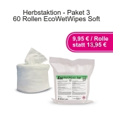 EcoWet Wipes Soft - Aktionspaket 3